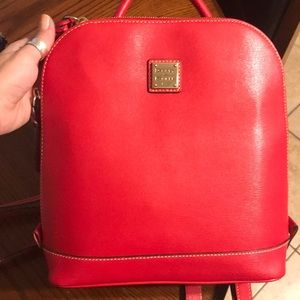 Dooney and Bourke Large Zip Pod Purse